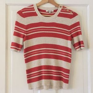 Madewell: Ribbed sweater top